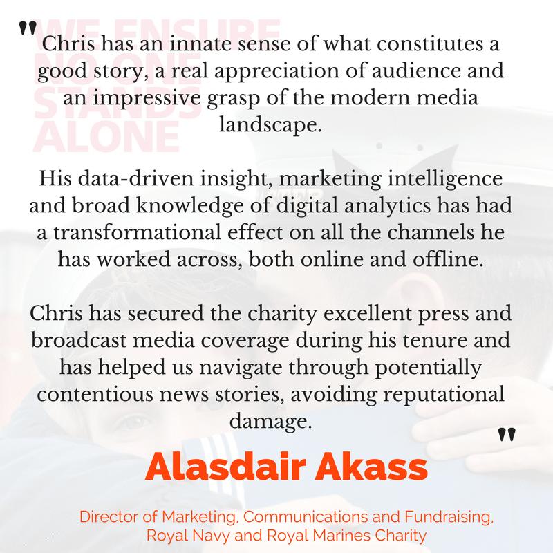 Alasdair Akass testimonial
