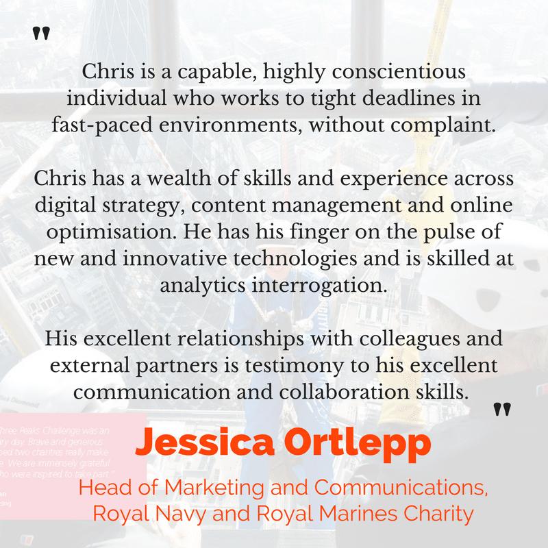 Jessica Ortlepp testimonial