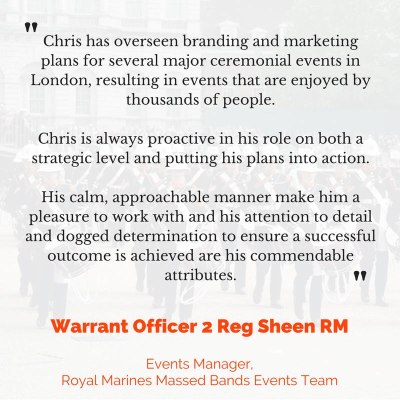 WO2 Reg Sheen RM testimonial